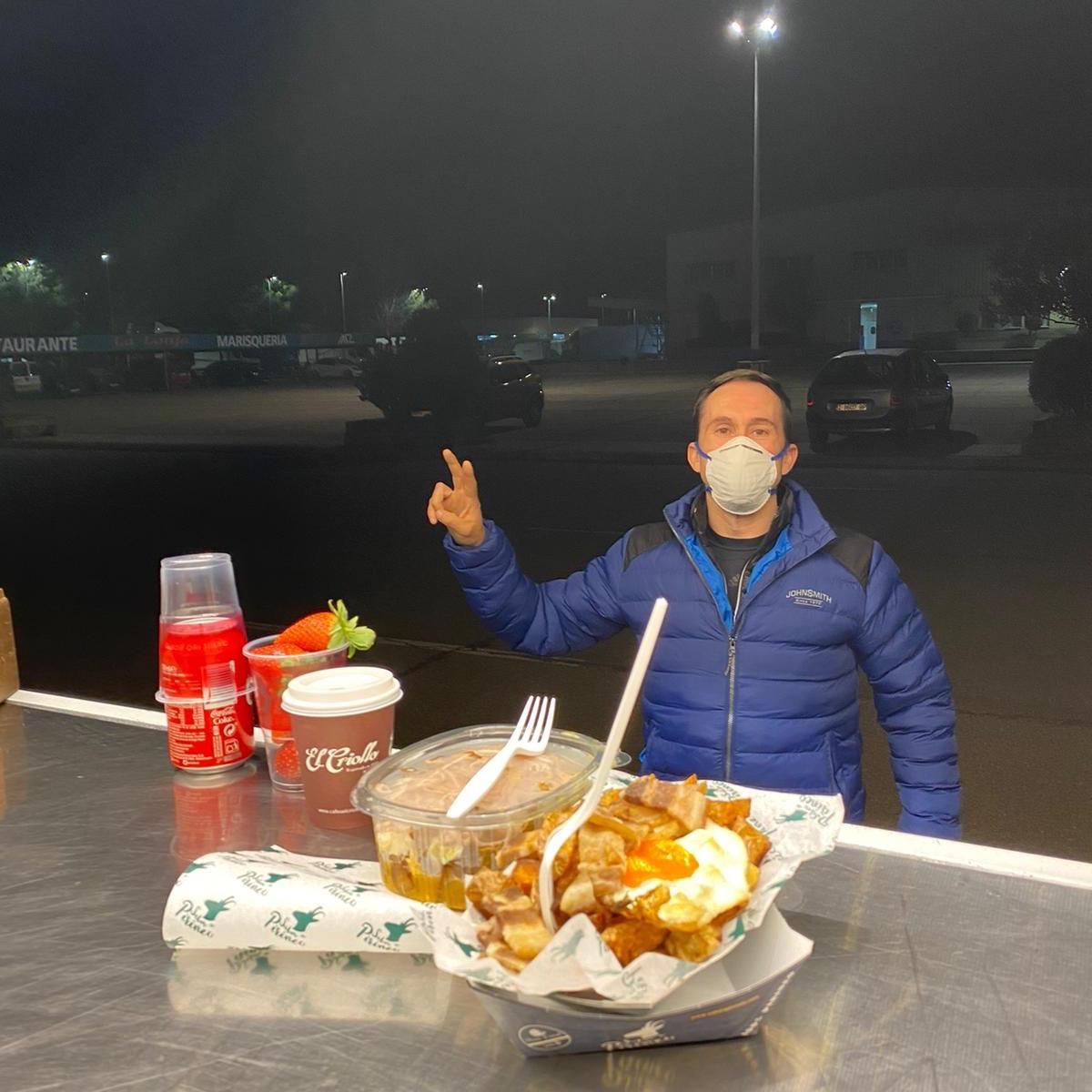 Servicio de cenas en MercaZaragoza
