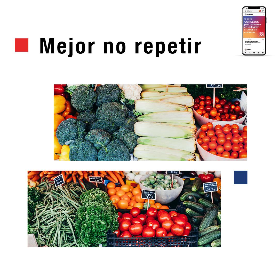 Mejor no repetir