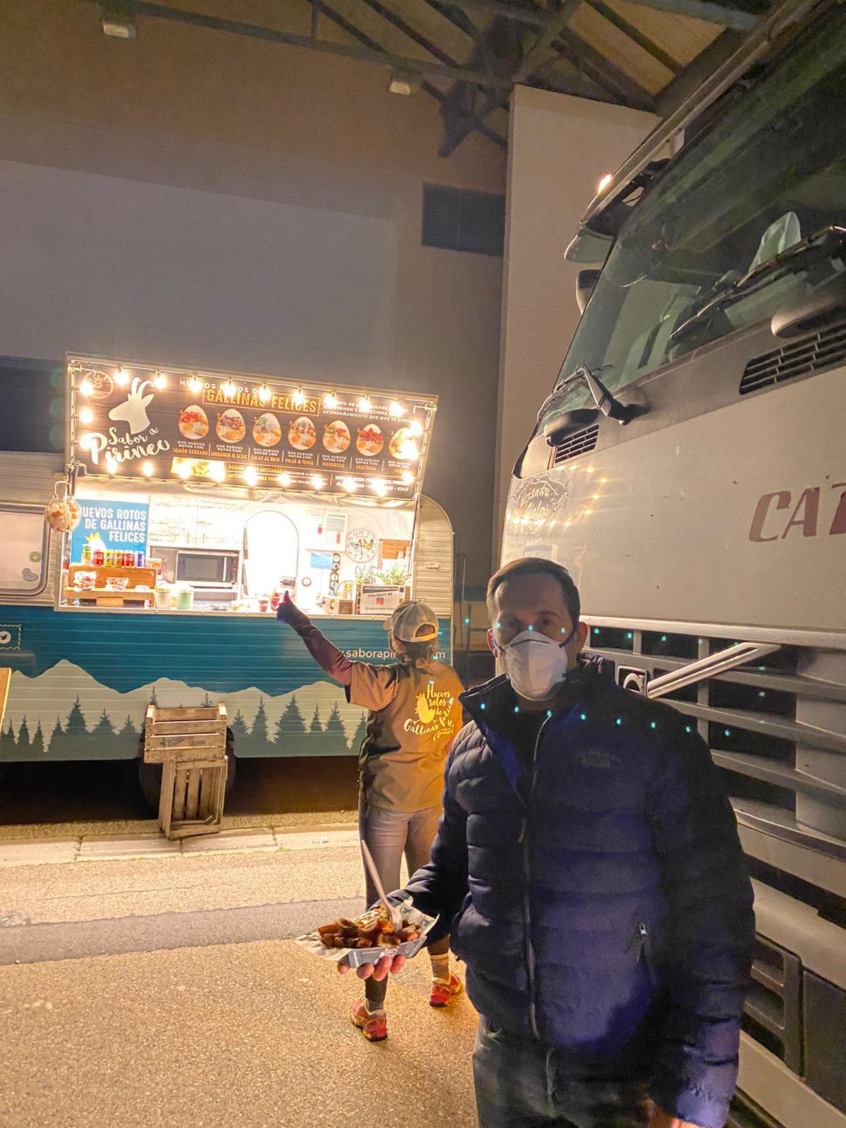 Cenas para transportistas en Mercazaragoza